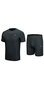 Men's Short Underwear Set