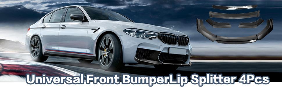 otoez Universal Front Bumper Lip for Honda Civic Mitsubishi Toyota Kia Infiniti