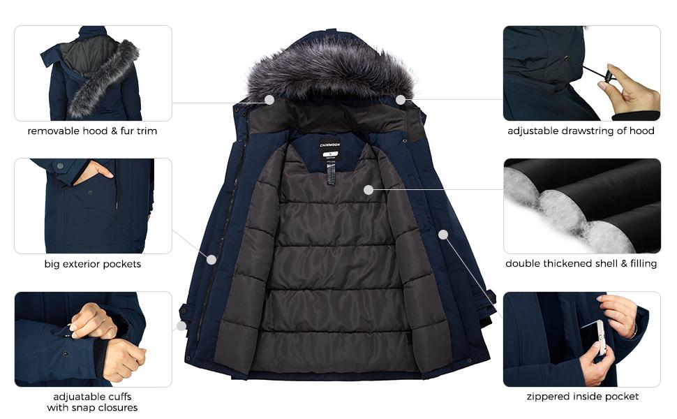 CHINMOON PUFFER COAT