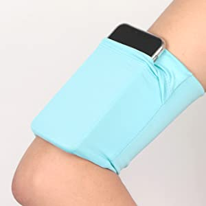 fopor running phone armband blue