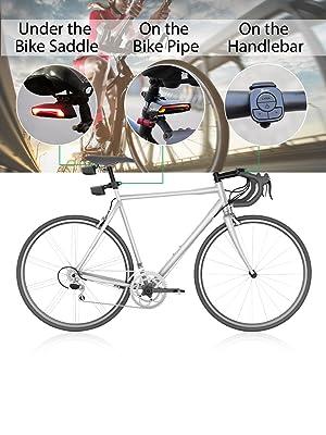 bike turn signals and brake light