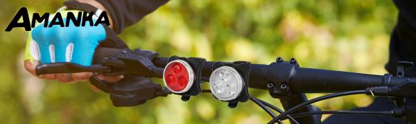 Lampe LED de Vélo