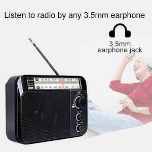 retekess TR604 AM FM radio