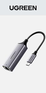 UGREEN USB Type C Ethernet Adapter