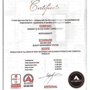 国際規格ISO 9001を取得