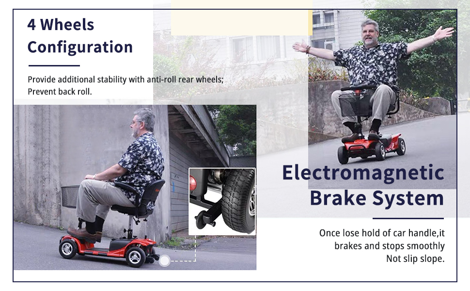 Electric Power Mobile Wheelchair