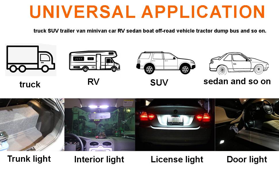 Lot 5 Car Truck Aircraft Hood Door Trunk Lid Light Switches Automotive Car Parts