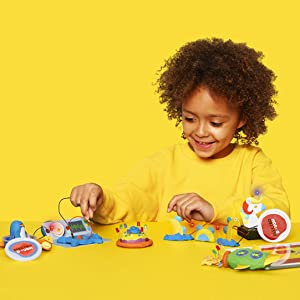 tech will save us electro dough fantasy kit for 4 year olds play with dough and lights