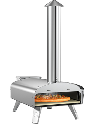 wood fried oven