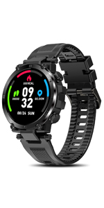 Smart Watch for Men Health and Fitness Smartwatch with Heart Rate IP68 Waterproof Smartwatches
