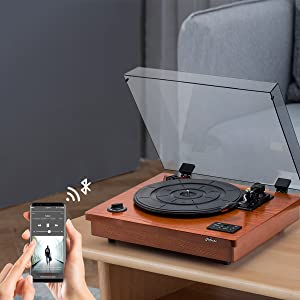 Bluetooth-in turntable