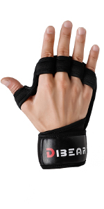 Upgraded Ventilation Weightlifting Gloves