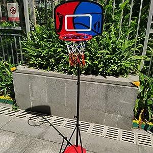 Rainproof and sunproof basketball stand