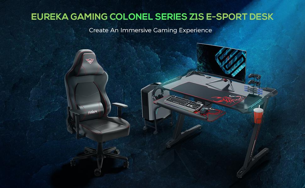 gaming pc desk