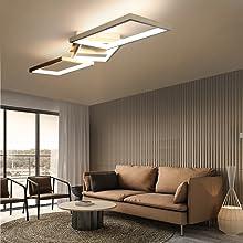 GBLY Moderne Deckenleuchte LED 3 Flammig B/üro Deckenlampe 3000K Warmwei/ß Eckige Geometrisch Deckenbeleuchtung f/ür Wohnzimmer Schalfzimmer Flur B/üro Arbeitszimmer