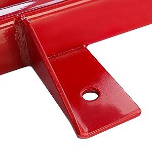 Arebos Motorradheber 500kg Rot Spindelantrieb 95 Bis 375 Mm Höhenverstellbar Auto