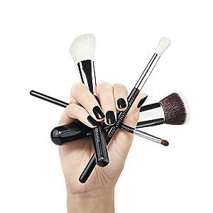 Jessup makeup brushes set