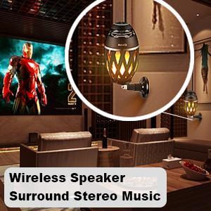 dual speakers indoor home theater wireless stereo speakers