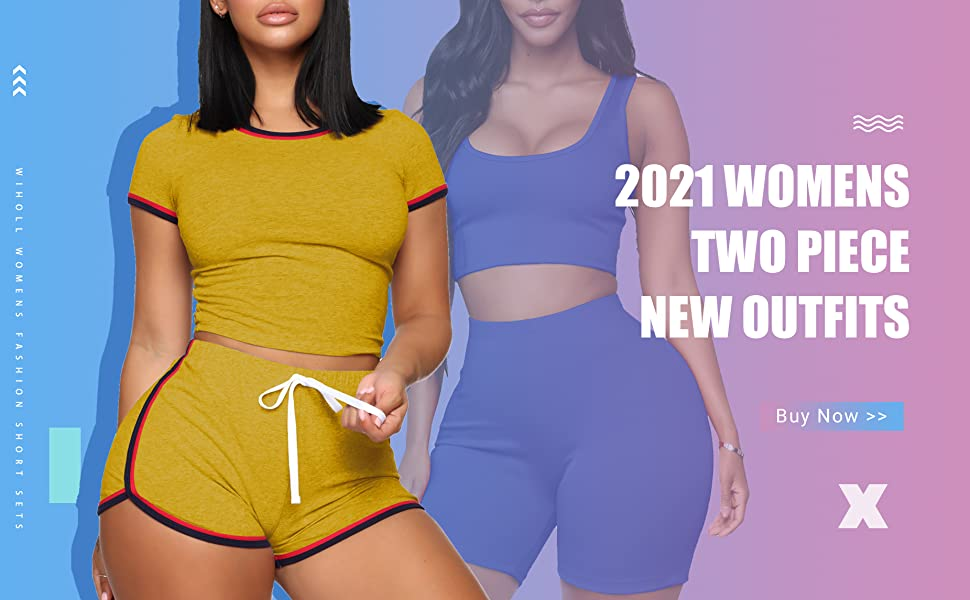 2021 womens two piece outfits