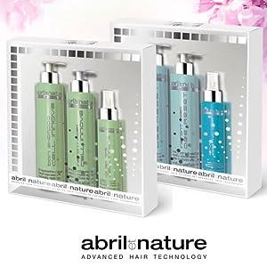 Set april et nature, trattamento per capelli, trattamento professionale per capelli, prodotti da parrucchiere