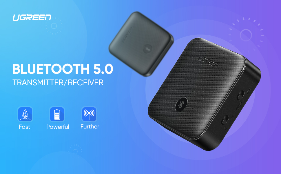 Bluetooth 5.0 Audio Transmitter and Receiver