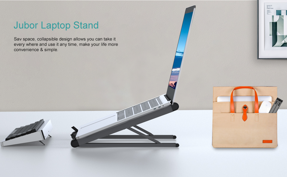 Computer stand save your space