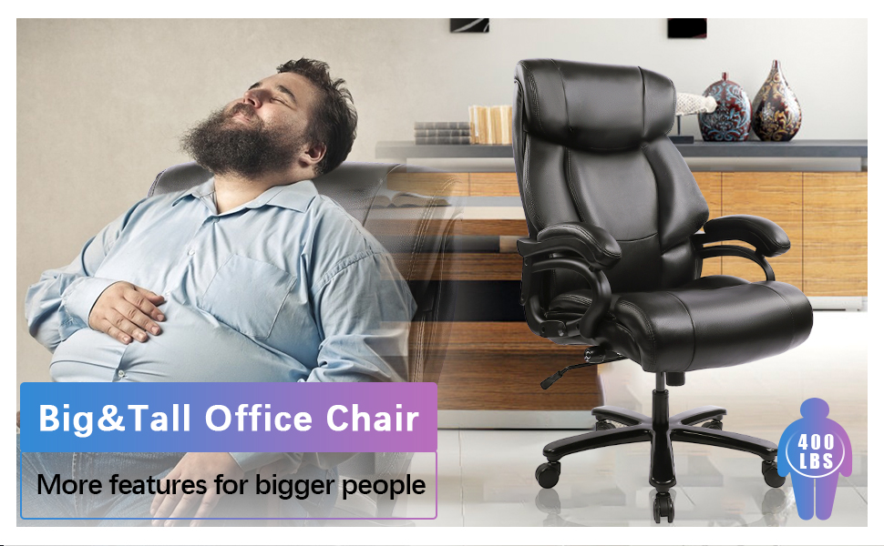 big and tall 400lbs office chair