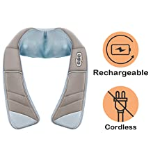 cordless neck massager shoulder massager
