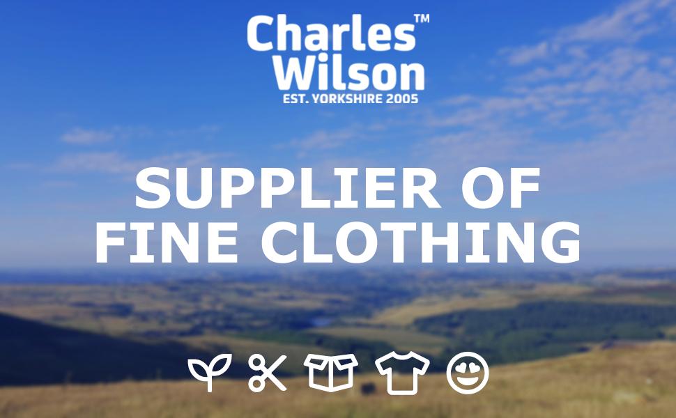 Charles Wilson Men's Essential Cotton Blend Zip Neck Jumper