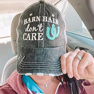 barn hair hat