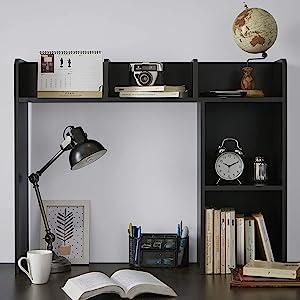 College essentials dorm wooden shelf kitchen organization home office shelving vertical storage