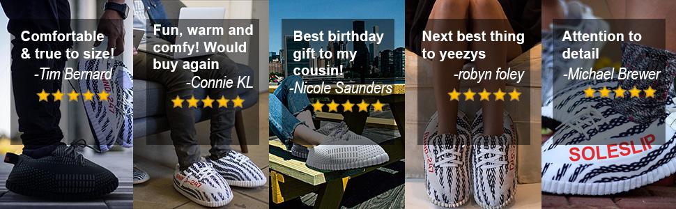 SoleSlip Sneaker Slippers | Men