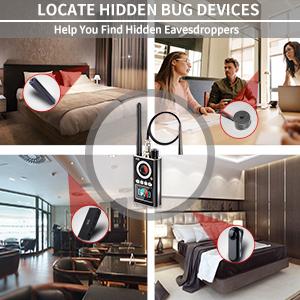 Locate hidden bug devices
