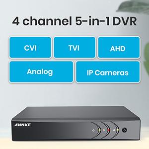 4 CH Cameras