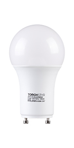 800lm 60W Equivalent CRI 80+ UL /& Energy Star Certified Pack of 8 XL1A19-8P9W50SS Photo Sensor Front Yards for Porches 9W 5000K Daylight TORCHSTAR LED Dusk-to-Dawn A19 Light Bulb