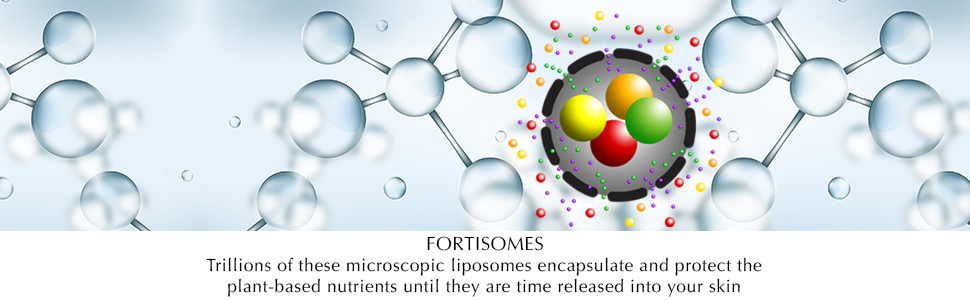 fortisomes, plant-based, skin protection, liposomes, plant based