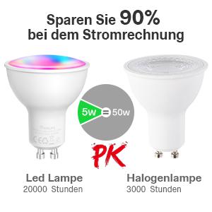 GU10 LED energiebesparend