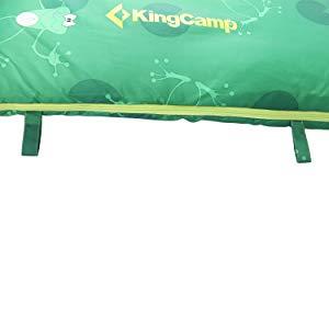 KingCamp Leichter Kinder-Rucksack Outdoor Camping Schlafsack und Kuppelzelt f/ür Kinder Indoor Play Cartoon Design