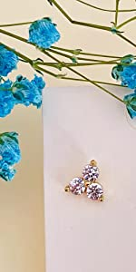 Small Sparkly Earrings