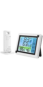 Innen Außen Thermometer Hygrometer
