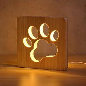 paw lamp