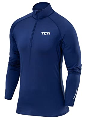 Salming Half Zip Mens Running Top Grey High Neck Long Sleeve Training Jersey