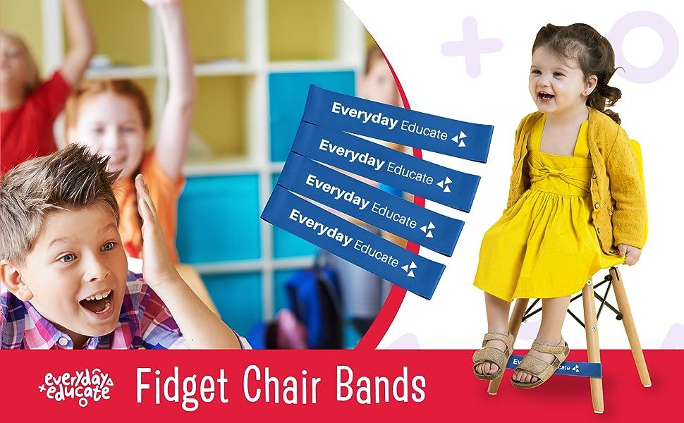 chair kick bands fidget wiggle chairs bouncy desks sensory kids fidgety feet adhd classroom school