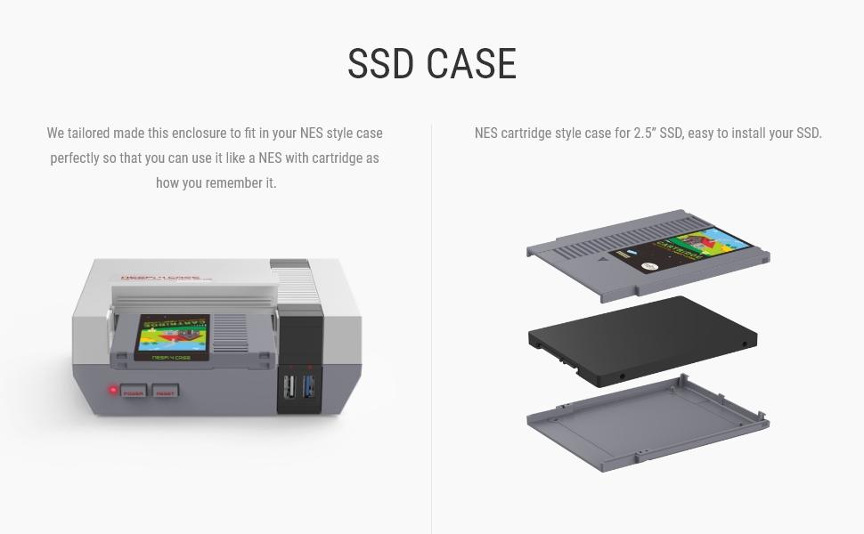 Retroflag NES Pi 4 Case