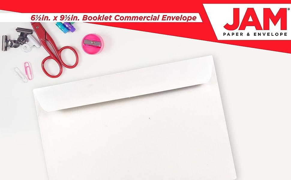 booklet commercial envelope
