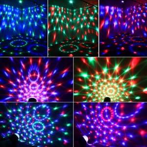 Lumières disco 7 couleurs