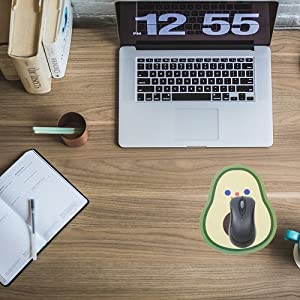 mouse pad gaming kids with wrist support pads large extended anime big