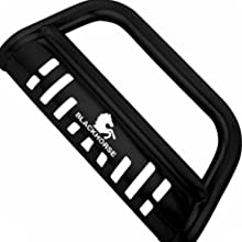 Skid Plate with Patented Black Horse Logo design