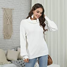 Cowl Neck Sweaters for Women