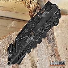 """8.25"""" Alien Tech Pocket Knife"""